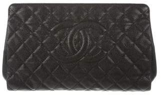 Chanel Quilted Timeless Clutch