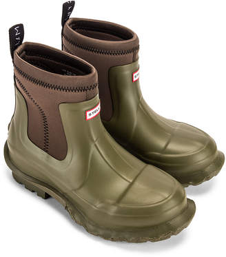 Stella McCartney Hunter Boots in Olive Green | FWRD