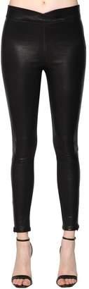 Frame Stretch Leather Leggings