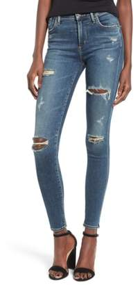 A Gold E AGOLDE 'Sophie' High Rise Skinny Jeans