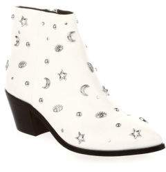 Rebecca Minkoff Lizzie Embellished Leather Booties