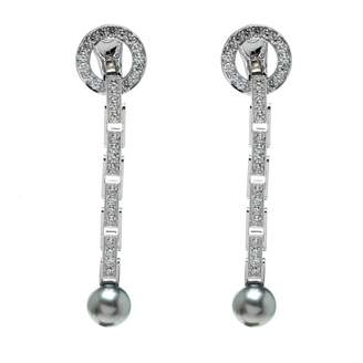 Cartier Grey White gold Earrings