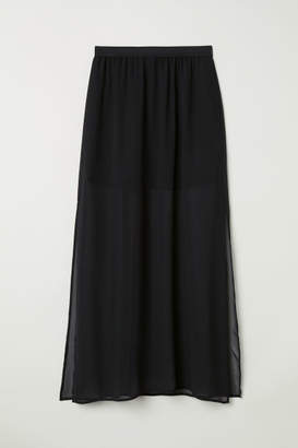H&M Long Skirt - Black
