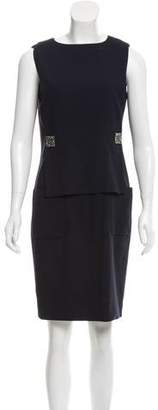 Chanel Sleeveless Knee-Length Dress