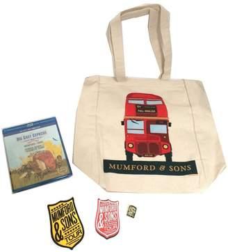 Express Real Swag Inc Mumford & Sons Big Easy Tour Blu Ray DVD 5 Piece Gift Set