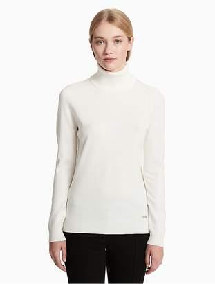 Calvin Klein Solid Turtleneck Sweater