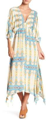 En Creme Colorful Multi Print Dress