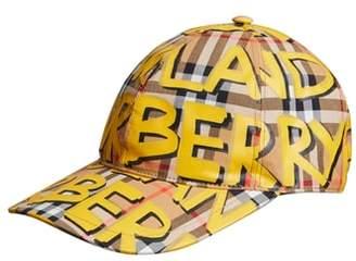 Burberry Graffiti Baseball Cap