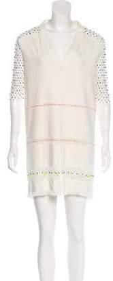 Marco De Vincenzo Embellished Shift Dress