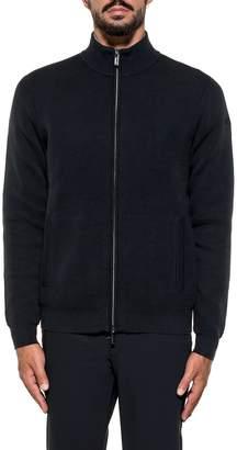 Rrd Roberto Ricci Design RRD - Roberto Ricci Design Knitted Fleece Zip Dark Blue