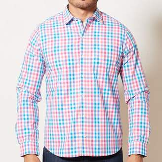 Blade + Blue Red, Aqua & White Check Shirt - Gunner