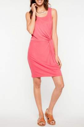 Everly Coral Twist Dress $42 thestylecure.com