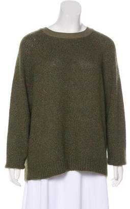 Creatures of Comfort Silk & Mohair Knit Sweater