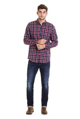 Country Road Regular Bordered Gingham Shirt