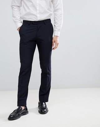 Next Slim Fit Suit Pants In Navy