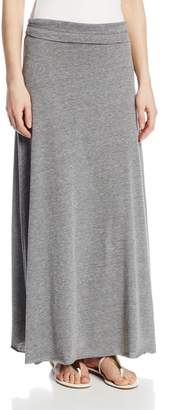 Alternative Apparel Alternative Women's Double Dare Maxi Skirt, Eco Grey