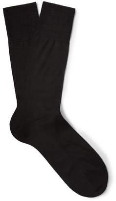 Falke No. 4 Silk-Blend Socks - Men - Black