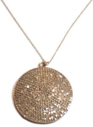 Designs By Alina Grand Sun Pave Diamond Necklace