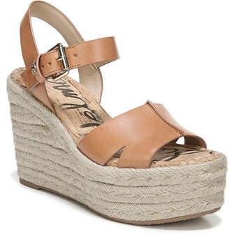 81345dccfebb Sam Edelman Maura Leather Platform Espadrille Sandals