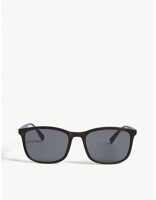 Prada Linea Rossa PS01T square-frame Havana sunglasses