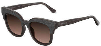 Jimmy Choo Jimmy Choo Mayela Textured Cat-Eye Sunglasses