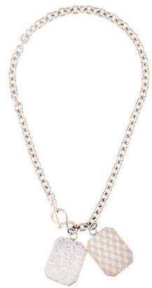 Monica Rich Kosann Half Locket Pendant Necklace