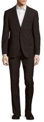 Tommy Hilfiger Regular Fit Hairline Wool-Blend Suit