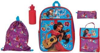 Disney Disney's Elena of Avalor Kids Backpack, Cinch Sack, Lunch Bag, Zip Pouch & Water Bottle Set