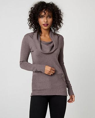 Le Château Viscose Blend Cowl Neck Sweater