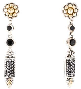 Konstantino Diamond & Onyx Drop Earrings