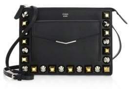 Fendi Studded Leather Crossbody Bag