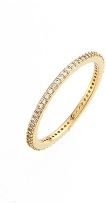 Women's Nadri Skinny Cubic Zirconia Pave Band Ring $48 thestylecure.com