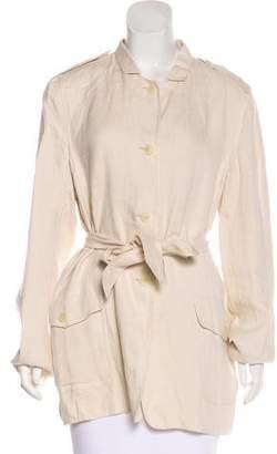 Max Mara Linen Short Coat