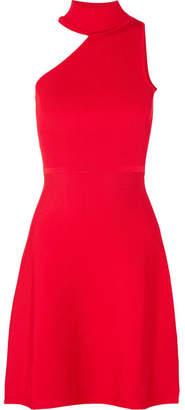 Cushnie et Ochs Vika One-shoulder Stretch-knit Mini Dress