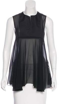 Giambattista Valli Silk Sleeveless Top w/ Tags