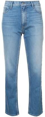 Oscar de la Renta faded skinny jeans