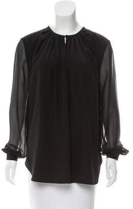 Joseph Oversize Silk Top
