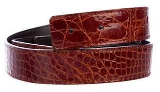 Valentino Leather Belt Strap