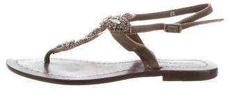 Antik Batik Embellished Flat Sandals