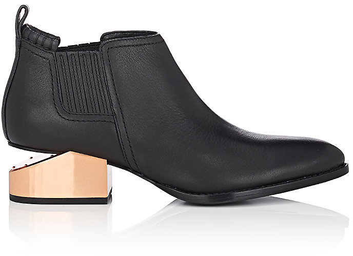 Alexander WangAlexander Wang Women's Kori Leather Ankle Boots
