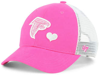 '47 Girls' Atlanta Falcons Sugar Sweet Mesh Adjustable Cap