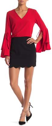 Sugar Lips Sugarlips Chelly Scallop Mini Skirt