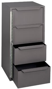 Durham Manufacturing Welded Steel 4 Drawer Cabinet Durham Manufacturing