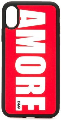 Dolce & Gabbana Amore iPhone X/XS phone case