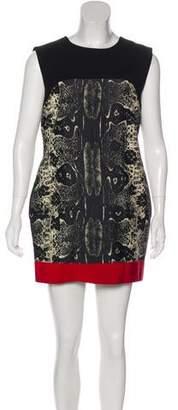 Giambattista Valli Wool-Blend Mini Dress