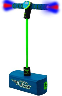 Flybar My First Foam Pogo Jumper Flashing LED Lights & Pogo Counter - Blue