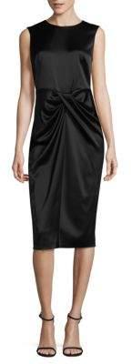 Donna Karan Drape Front Dress