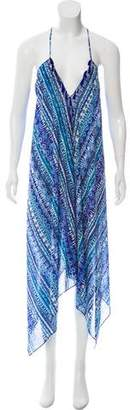 Ramy Brook Printed Maxi Dress w/ Tags