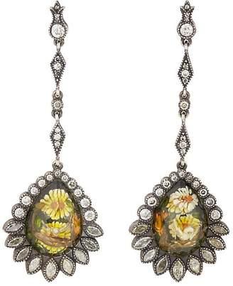 Sevan Biçakci Women's Daisy & Turtle Dove Intaglio Drop Earrings