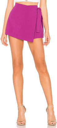 Endless Rose Side Tie Skort